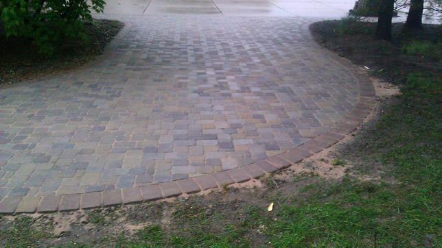 Brick Driveway Maintenance Brick Paver Driveway Extension