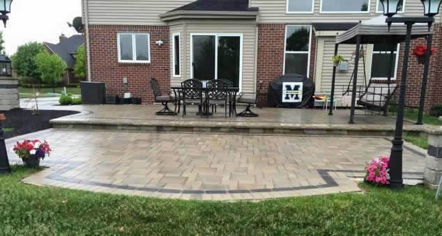 Install A Brick Paver Patio In Oakland County
